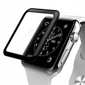 Защитное стекло для Apple Watch 3D Side Glue 40mm (тех.пак)