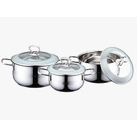 Набор кастрюль (Набор посуды) 6 пр. Peterhof PH-15724