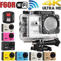 DVR Sport Экшн камера спорт F60R WI-FI  с пультом. Видеорегистратор, фото 3
