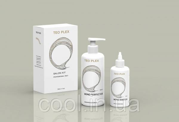 TEO 0200  Teo Plex Салонный набор (шаг1+шаг2+мерный стаканчик)