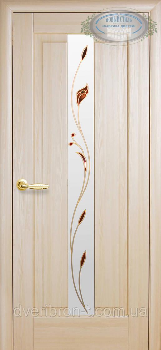 Двери Новый Стиль Премьера + Р1 ясень, коллекция Маэстра Р