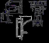 Набор смесителей Hansgrohe Logis 100 711714311 (71100000+71400000+27772000), фото 2