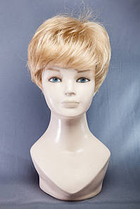 Короткие парики №7,цвет мелирование пшеничный с белым
