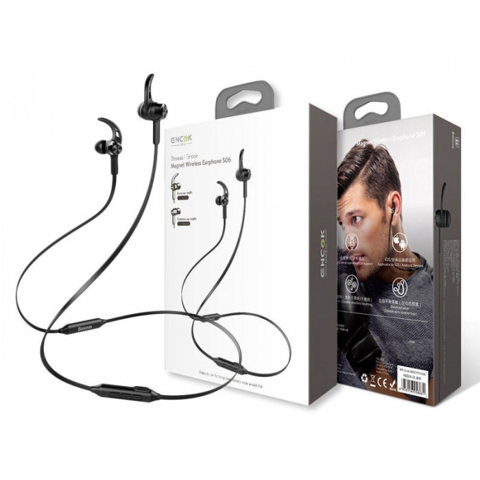 Наушники MP3 Baseus Encok Bluetooth Earphone S06 Original