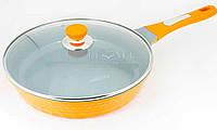 Сковорода 24 см керамика Lessner Orangie 88321-24, фото 1