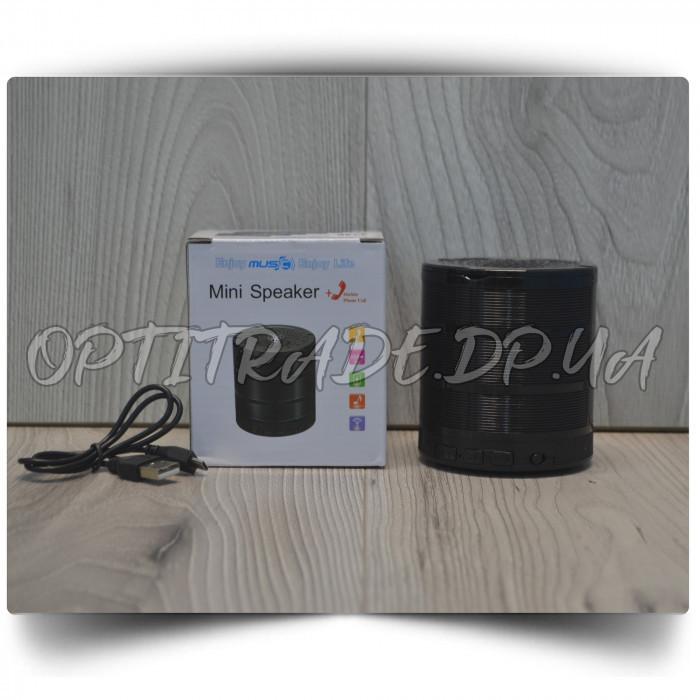 """Портативная колонка """"SPS G28"""" Bluetooth 8.5x7.5 см."""