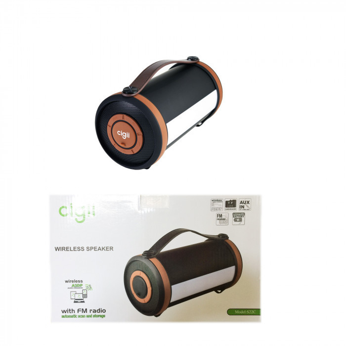 "Портативная колонка ""Cigii S22C"" Original Bluetooth 254х136 мм."