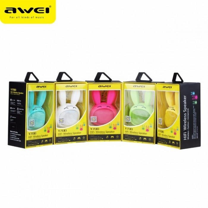 Портативная колонка Bluetooth Awei Y700 Original 55x70x95 мм.