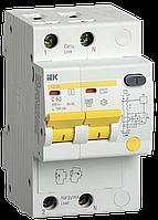 Дифференциальный автоматический выключатель АД12S 2Р 63А 300мА IEK