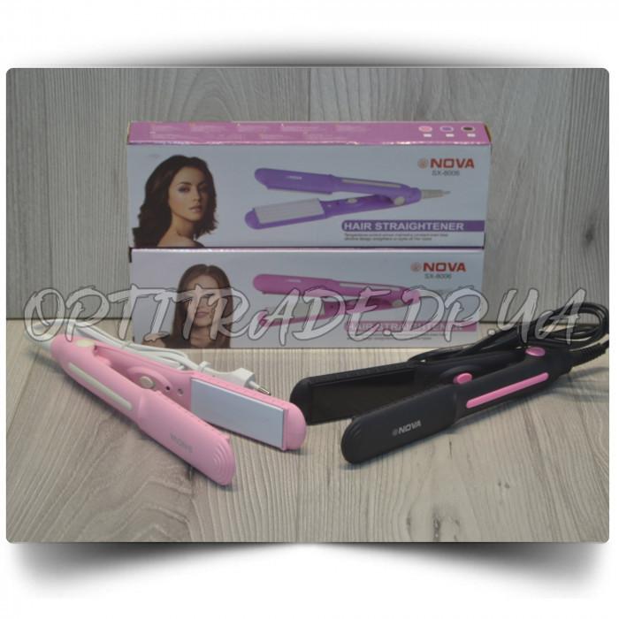 """Утюжок керамический для выпрямления волос """"SX-8006"""""""