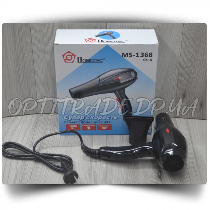 Фен для волос Domotec MS-1368 1600W