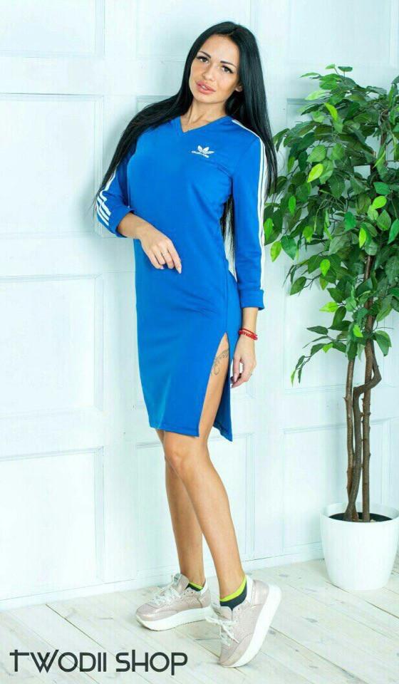 Платье Adidas с вырезом от бедра