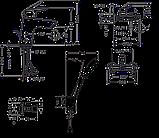 Набір змішувачів Hansgrohe Logis 100 711714410 (71100000+71400000+26666400+13901000-2 шт), фото 2