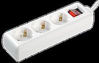 Удлинитель У03К-выкл. 3 места 2Р+PЕ/1,5метра 3х1мм2 16А/250 IEK