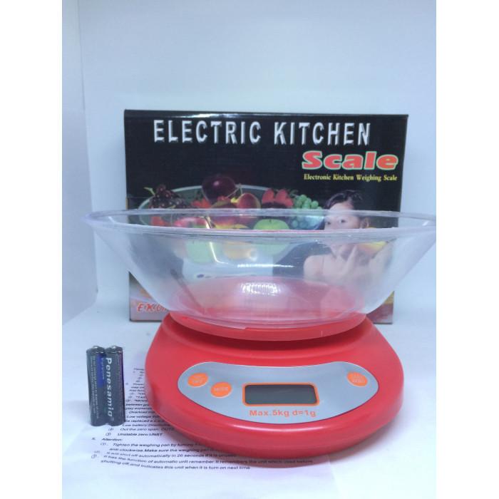 "Весы кухонные с чашей ""ELECTRIC KITCHEN EK-01"" 5 кг"