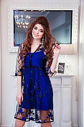 Нарядное праздничное платье- пинюар