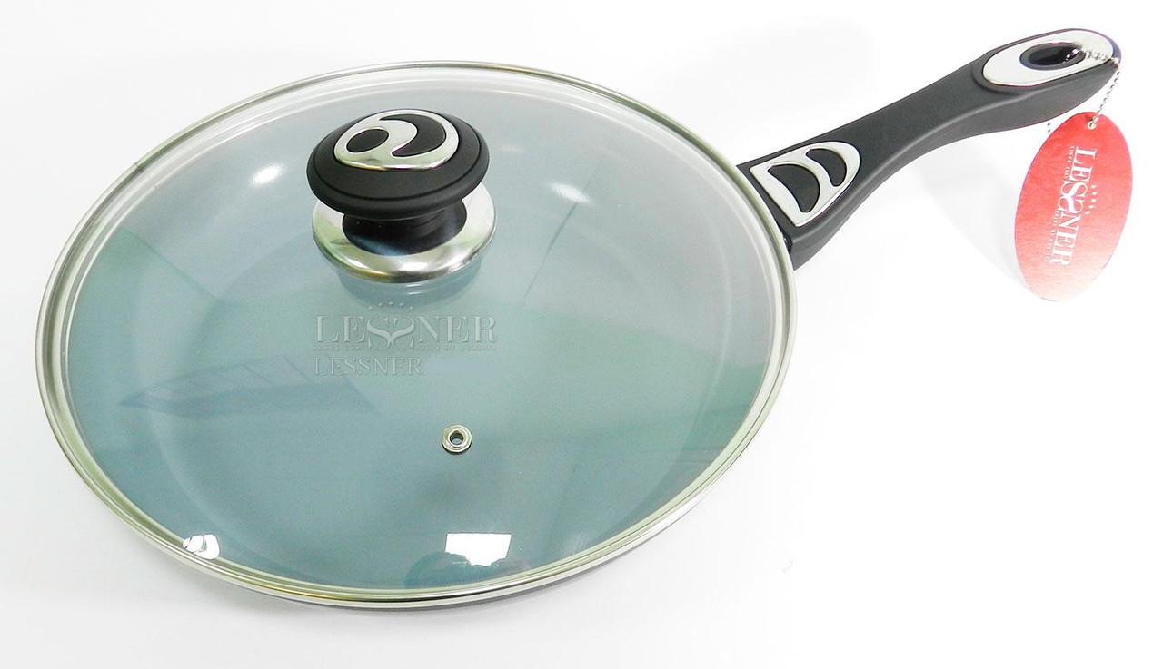 Сковорода 22 см покрытие керамика Lessner Ceramiс Line Omega 88340-22 - Mini-Cena - интернет магазин посуды и бытовой техники  в Луцке