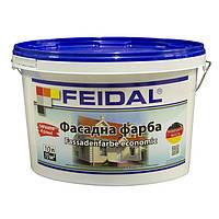 Акриловая краска для фасадных и интерьерных работ Fassadenfarbe economic 2,5 л