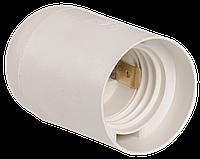 Патрон подвесной Ппл27-04-К02 пластик Е27 белый (50шт) (стикер на изделии) IEK