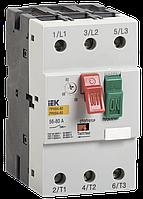 Пускатель ручной кнопочный ПРК64-80 In=80A Ir=56-80A 660В IEK