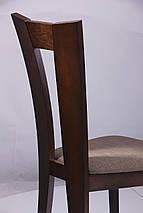 Стул обеденный Бристоль СВ-3980YBH орех темный/ткань коричн. TM AMF, фото 3