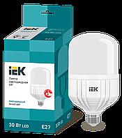 Лампа светодиодная HP 30Вт 230В 4000К E27 IEK