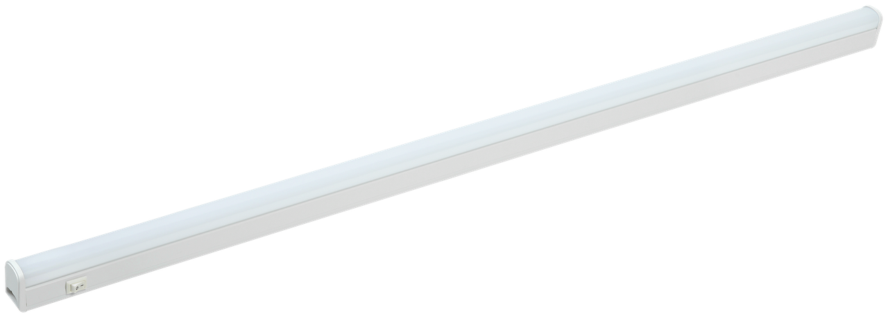 Светильник светодиодный линейный ДБО 3003 10Вт 4000К IP20 872мм пластик IEK