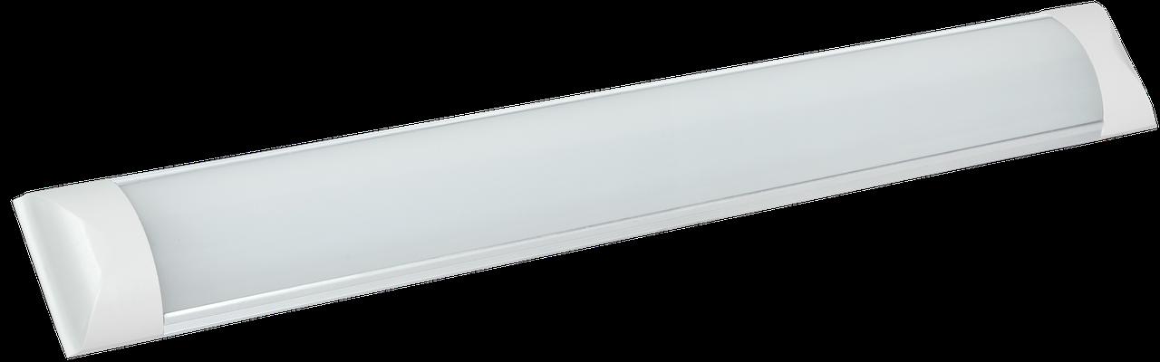 Світильник світлодіодний лінійний ДБО 5003 18Вт 4000К IP20 600мм алюміній IEK