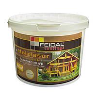 Акриловая лазурь для защиты деревянных поверхностей Holzlasur (Орех) 4,5 л