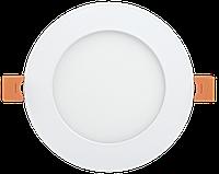 Светильник светодиодный ДВО 1605 круг 12Вт 4000K IP20 белый IEK