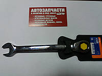Ключ рожково-накидной с трещоткой на 13 Miol