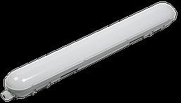 Светильник светодиодный ДСП 1304 18Вт 4500К IP65 600мм серый пластик IEK
