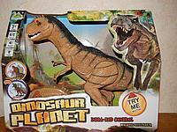 Интерактивный динозавр иранозавр на радиоуправлении (свет, звук, ходит)