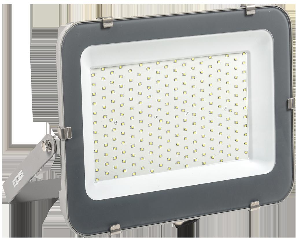 Прожектор светодиодный СДО 07-200 IP65 серый IEK