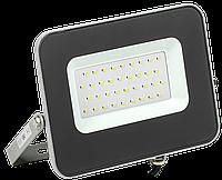 Прожектор светодиодный СДО 07-30 IP65 серый IEK