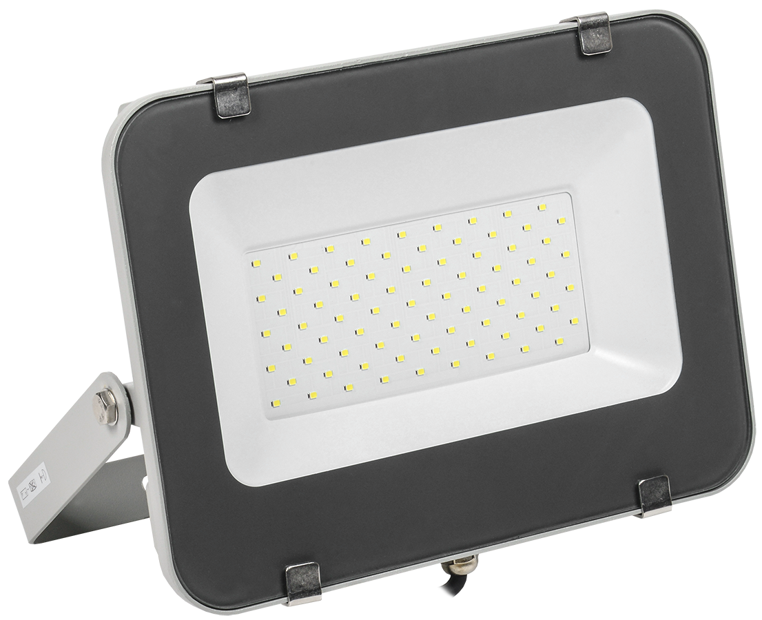 Прожектор светодиодный СДО 07-70 IP65 серый IEK