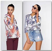 Блуза з подовженою спинкою і розрізами в бічних швах., фото 1