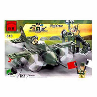 Детский конструктор BRICK 810 Истребитель, 225 дет