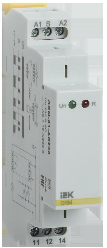 Импульсное реле ORM. 1 конт. 230 В AC IEK