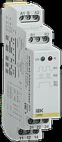 Імпульсне реле ORM. 2 конт. 12-240 В AC/DC IEK