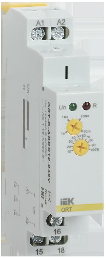 Реле задержки выключения при снятии питания ORT. 12-240 В AC/DC IEK