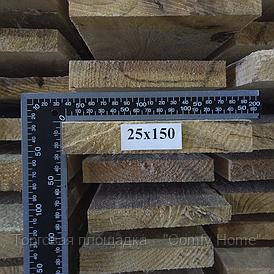 Доска обрезная (сосна) 25х150х4500 мм.