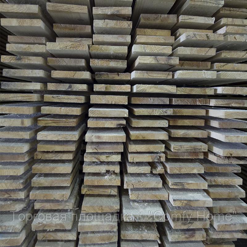 Доска обрезная (сосна) 25х150х4500 мм., фото 2