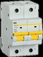 Выключатель автоматический ВА47-150 2Р 125А 15кА х-ка D IEK