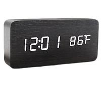 Настольные часы VST-862-6 с белой подсветкой