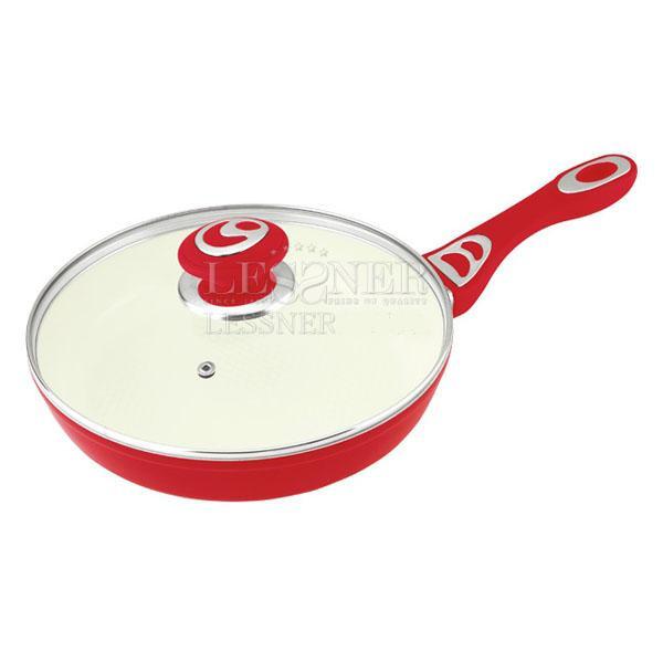Сковорода 22 см покрытие керамика Lessner Cooker 88701-22 - Mini-Cena - интернет магазин посуды и бытовой техники  в Луцке