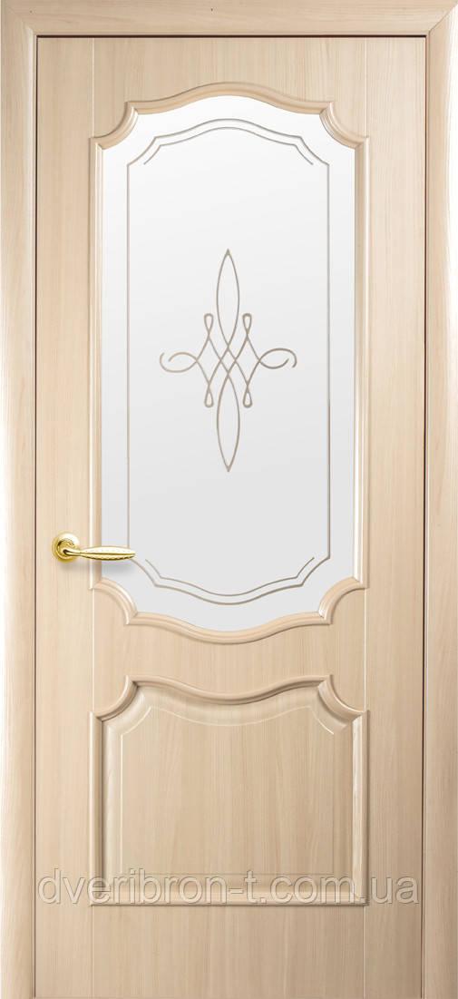 Двери Новый Стиль Рока +Р1 ясень, коллекция Интера DeLuxe