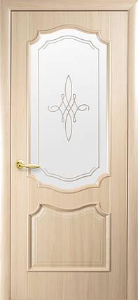 Двери Новый Стиль Рока +Р1 ясень, коллекция Интера DeLuxe, фото 2