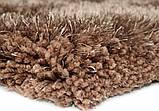 Купити килими 120х170см зі знижкою,килим шеггі коричневий, фото 2