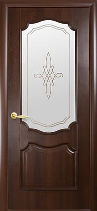 Двери Новый Стиль Рока +Р1 каштан, коллекция Интера DeLuxe, фото 2